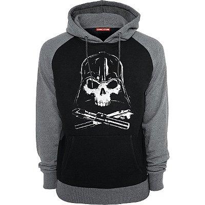 Blusa com Capuz Star Wars Darth Vader Skull