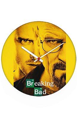 Relógio de Parede Breaking Bad - Serie