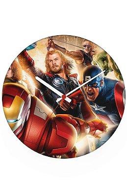 Relógio de Parede Homem de Ferro - Os Vingadores