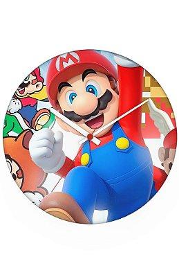 Relógio de Parede Super Mario