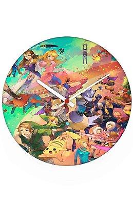 Relógio de Parede Pikachu, Link -Diversos
