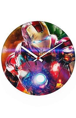 Relógio de Parede Homem de Ferro