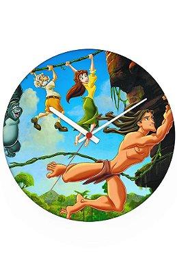 Relógio de Parede Tarzan