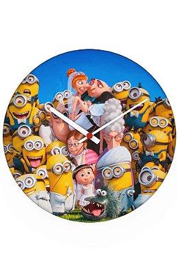 Relógio de Parede Minions