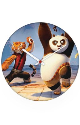 Relógio de Parede Kung Fu Panda