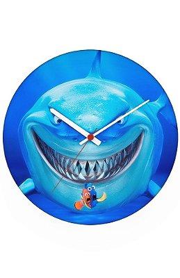 Relógio de Parede Procurando Nemo