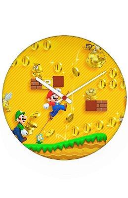 Relógio de Parede Super Mario - Fase