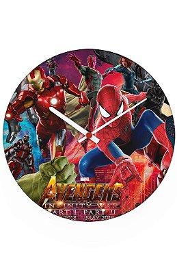 Relógio de Parede The Avengers