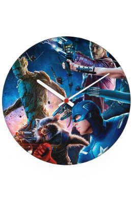 Relógio de Parede The Avengers e Guardiões da Galáxia
