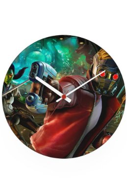 Relógio de Parede Guardiões da Galáxia