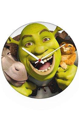Relógio de Parede Shrek