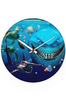 Relógio de Parede Procurando Dory