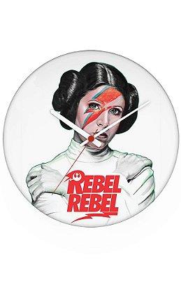 Relógio de Parede Princesa Léia - Rebel