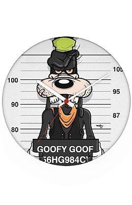 Relógio de Parede Goofy Goof