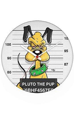 Relógio de Parede Pluto the Pup