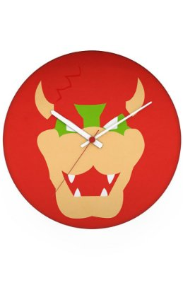 Relógio de Parede Super Mario - Dragão