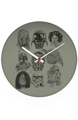 Relógio de Parede Star Wars
