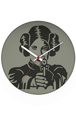 Relógio de Parede Princesa Leia