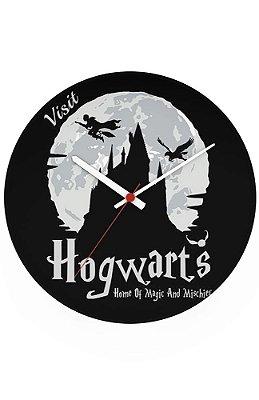 Relógio de Parede Harry Potter - Hogwarts