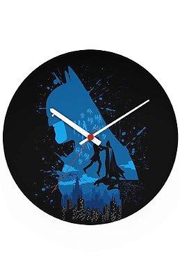Relógio de Parede Batman e Coringa