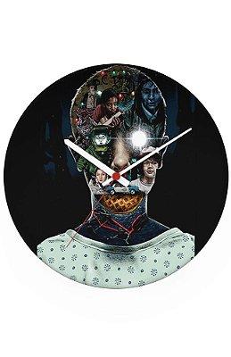 Relógio de Parede Stranger Things - Eleven