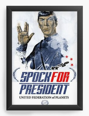 Quadro Decorativo Star Trek - Spock