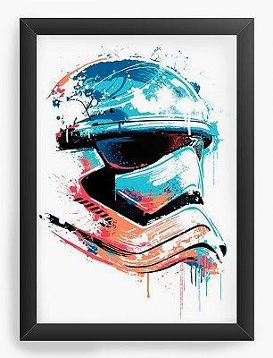 Quadro Decorativo Stormtrooper