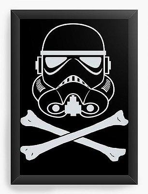 Quadro Decorativo Star Wars - Stormtrooper Dark