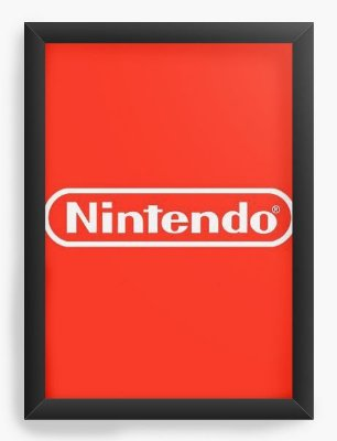 Quadro Decorativo Nintendo
