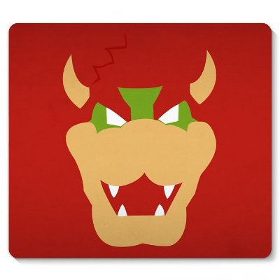 Mouse Pad Super Mario - Bowser 23x20