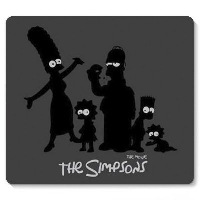 Mouse Pad The Simpsons 23x20