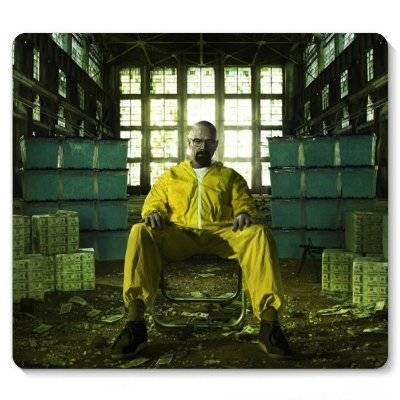 Mouse Pad Breaking Bad: A Química do Mal 23x20