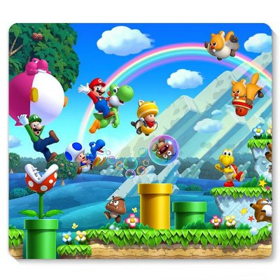 Mouse Pad Super Mario - Fase 23x20