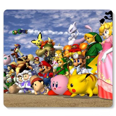 Mouse Pad Super Mario 23x20