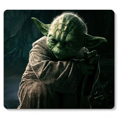 Mouse Pad Star Wars - Yoda 23x20