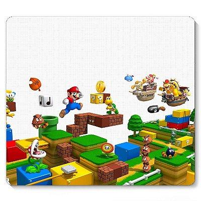 Mouse Pad Super Mario - Fase 23x20