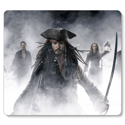 Mouse Pad Piratas do Caribe 23x20