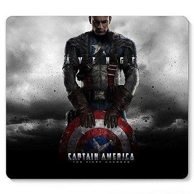 Mouse Pad Capitão America 23x20