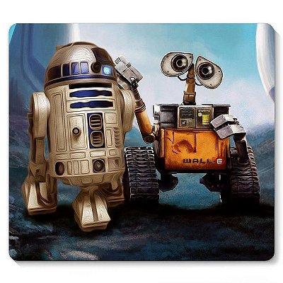Mouse Pad RD-D2 E Robo Wall E 23x20
