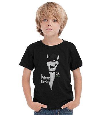 Camiseta Infantil Poderoso Chefão