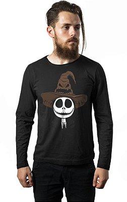 Camiseta Manga Longa Harry Jack - Chapéu Seletor