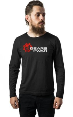Camiseta Manga Longa Gears of War