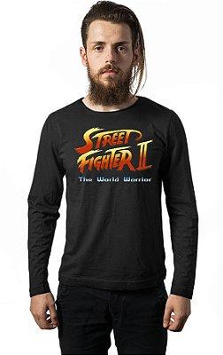 Camiseta Manga Longa Street Fighter