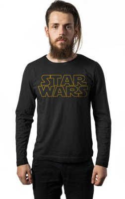 Camiseta Manga Longa Star Wars