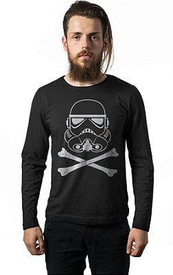 Camiseta Manga Longa Stormtrooper