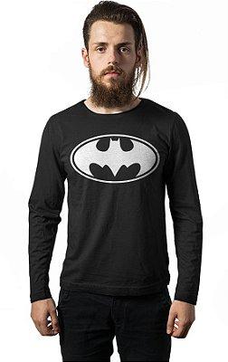 Camiseta Manga Longa Batman