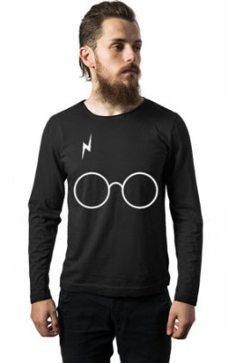 Camiseta Manga Harry Potter