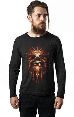 Camiseta Manga Longa Chewbacca - Star Wars