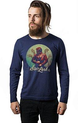 Camiseta Manga Longa Guardiões das Galaxia