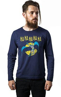 Camiseta Manga Longa Batman - Na Na